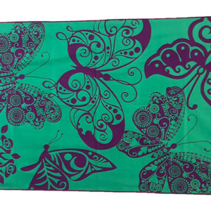Sea Breeze Towel – Purple Butterfly