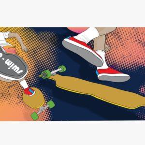 Sea Breeze Towel – Skater